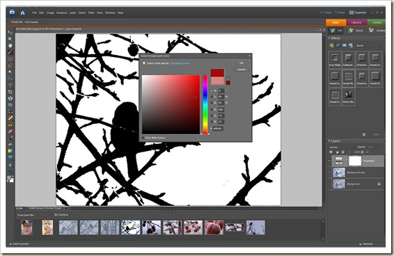 A - Color Select