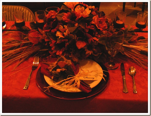 Table Setting Stacey good