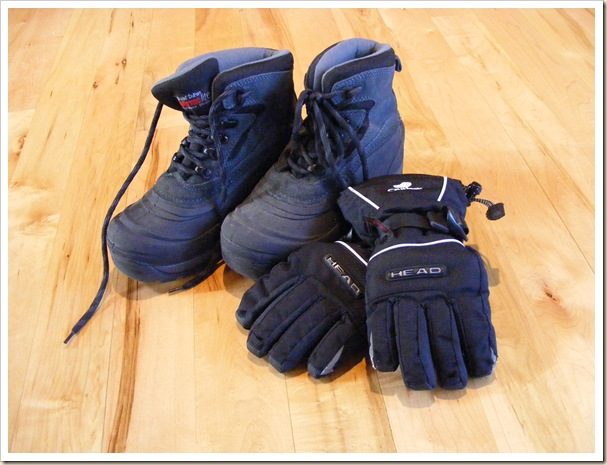 Devin Boots & Gloves