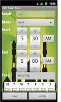 Screenshot of Quiet Salah Pro