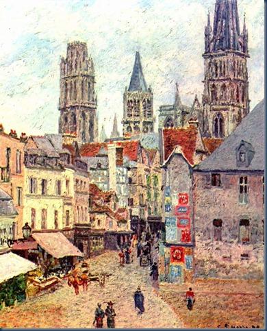 Rouen, Rue L´ Épicerie 1898