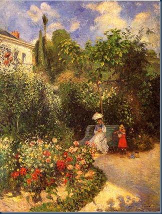 Jardin de Pontoise 1877