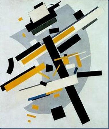 Composición abstracta (suprematismo) Malevich