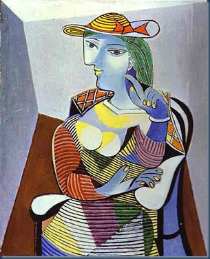 picasso_marieTHERESE WALTER 1937