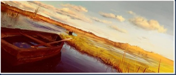Boats-Digital-Painting-2009-by-Fredrik-Rattzen-575x244