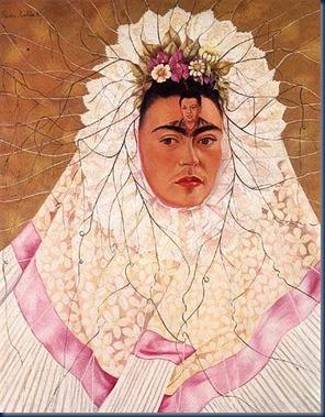 Autorretrato como Tehuana 1943.