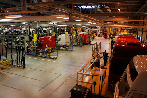 Volvo Trucks cab production