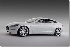 Tesla S exterior
