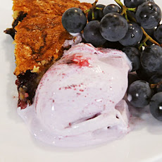 Concord Grape Swirl Ice Cream
