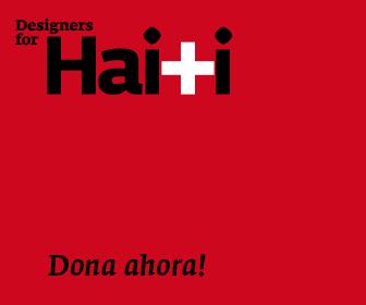 Designers for haiti. Dona ahora