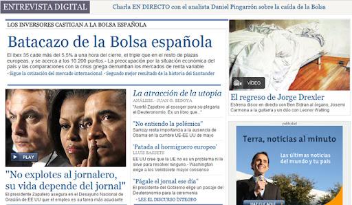 portada de otro periodico digital