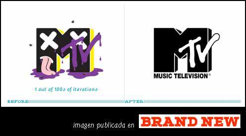 Nuevo Look de MTV