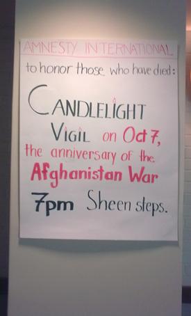 Octavo aniversario de la guerra de Afganistán