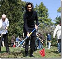 obama veg garden