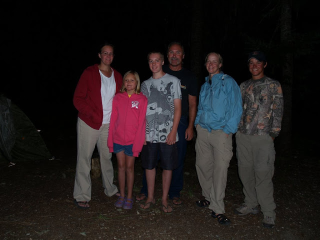 The family we camped with in Wendover Campground. Theyre from Frederick, MD