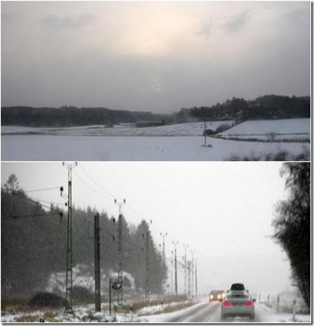 1  snöoväder