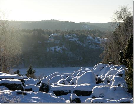 1 snö o sol
