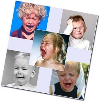 ledsna barn