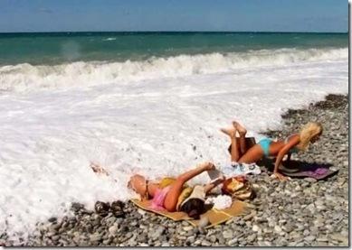 praia feriado