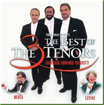 best of three tenors