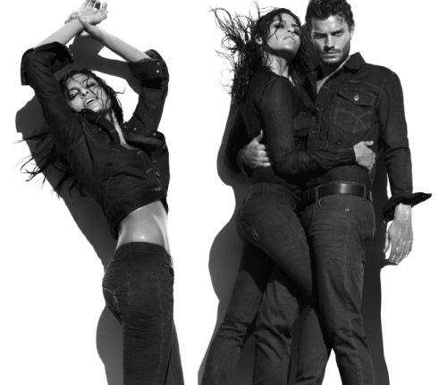 Eva Mendes & Jamie Dornan 4 Calvin Klein Underwear & Jeans ...