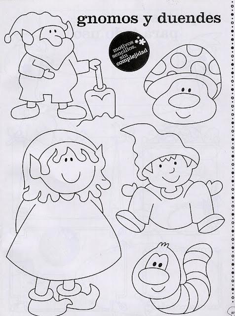 Motivos diferentes para pintar en papel o tela - Dibujos para pintar en tela ...