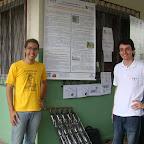 Aquecedor solar é apresentado em Feira de Ciências no Colégio Plácido Olímpio (2010)