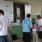Grupo PET durante apresentação de projeto no Colégio Plácido Olímpio (2010)