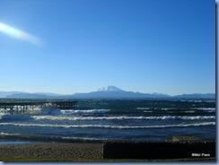 Lago Llanquihue e vulcão Cabulco