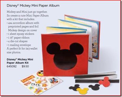 Mini Paper Album