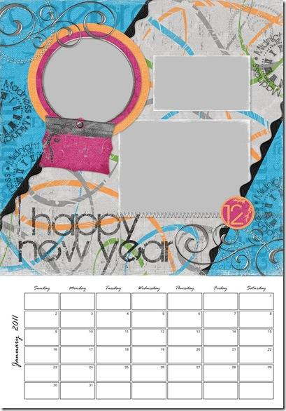 2011 Calendar - Page 001