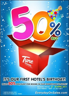 Tune-Hotels-First-Birthday-2011-EverydayOnSales-Warehouse-Sale-Promotion-Deal-Discount