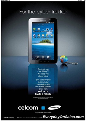 celcom-samsung-tab-2011-EverydayOnSales-Warehouse-Sale-Promotion-Deal-Discount
