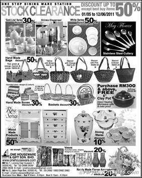 one-stop-dinning-2011-EverydayOnSales-Warehouse-Sale-Promotion-Deal-Discount