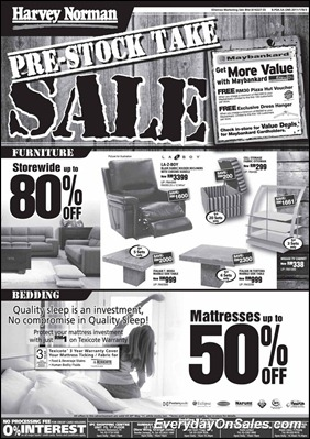 Harvey-Norman-Pre-Stock-Take-Sales-2011-b-EverydayOnSales-Warehouse-Sale-Promotion-Deal-Discount