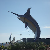 Kota Kinabalu Town - Swordfish at the Roundabout.