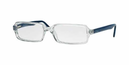 Óculos Ray Ban RX5050 Transparente com Azul
