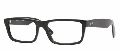 Óculos RX5216 Ray Ban Preto