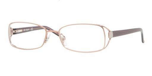 Óculos VO3742 Vogue Marrom com dourado