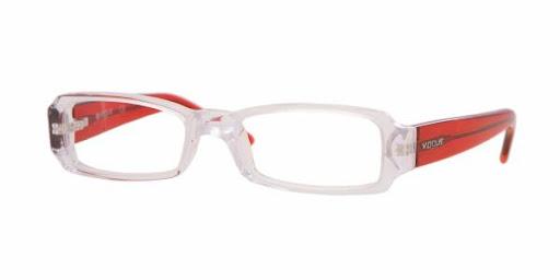 Óculos VO2550 Vogue Transparente e Vermelho