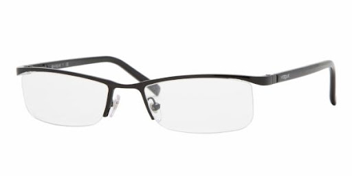 Modelo mega glamouroso de grau da marca de óculos Vogue VO3670/ 352