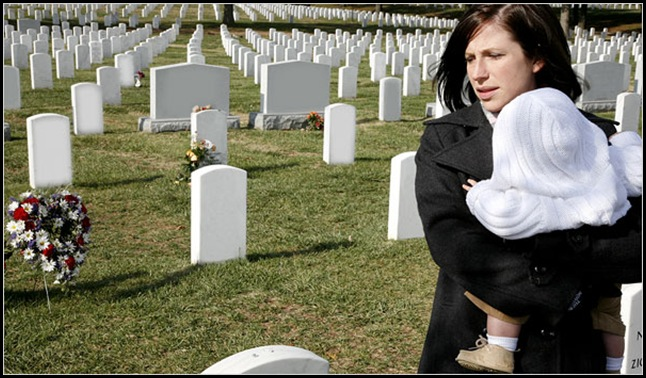 widow at arlington national