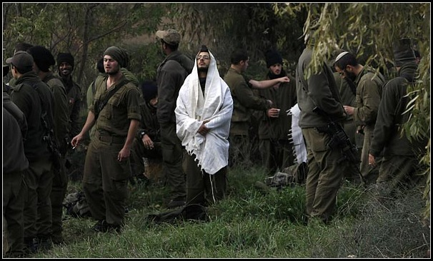 religious war in israel's army