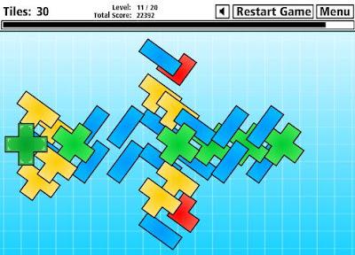 【パズル】「rlax」上に重なったブロックから順に取り除くパズルゲーム