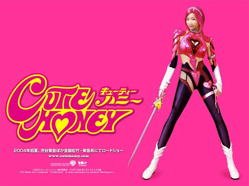 「佐藤江梨子」キューティーハニーの時はピンクのウイッグ