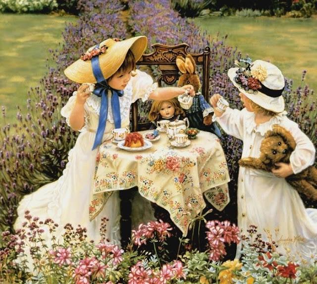 O chá da tarde...