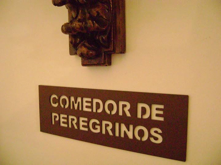 Comedor de Peregrinos del Parador de Santiago