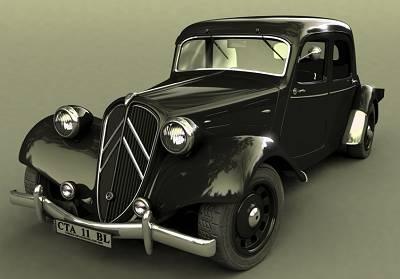 yafray_eric_terrier_3d_car_model