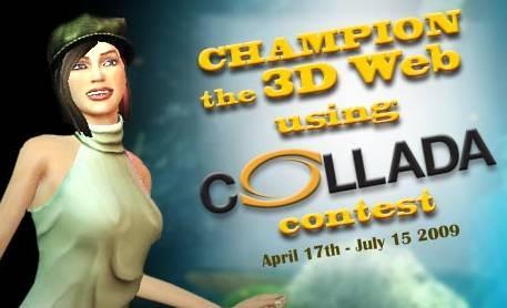collada 3d format contest