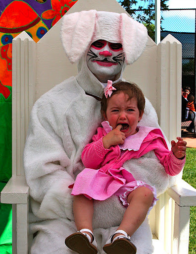Scary Easter Bunny Photos To see the easter bunny,